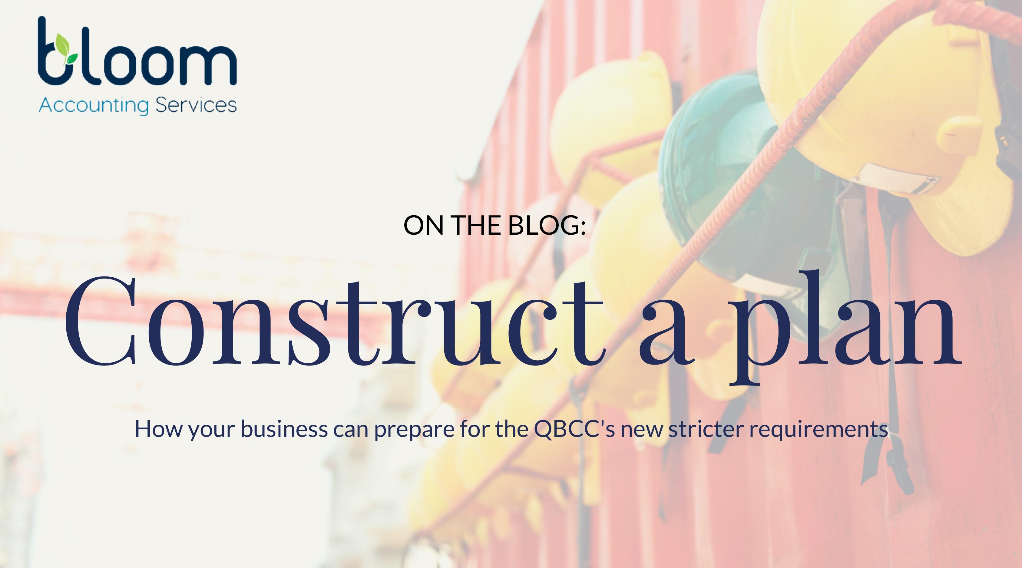 Construct A Plan